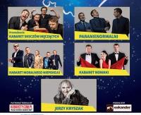 Polska Noc Kabaretowa 2017 w Sanoku! Na scenie m.in. Paranienormalni, Kabaret Moralnego Niepokoju czy Jerzy Kryszak