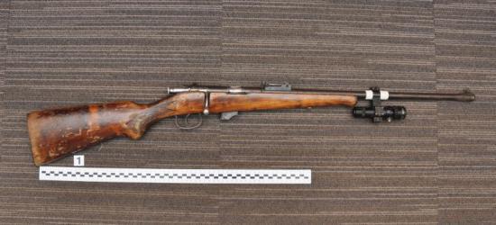 Nielegalna broń zatrzymana na granicy w Krościenku