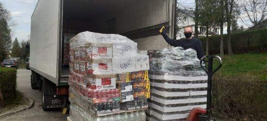 FRAC dla sanockiego szpitala. Przekazano żywność i napoje (ZDJĘCIA)
