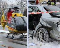 Wracamy do sprawy wypadku na ruchliwym skrzyżowaniu. 8-latka z poważnymi obrażeniami (FILMY, ZDJĘCIA)