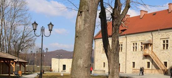 Dziedziniec sanockiego zamku nabierze blasku (VIDEO HD)