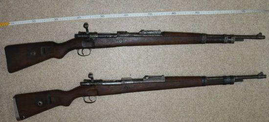 Nielegalny arsenał broni. 5 karabinów i 600 szt. amunicji!