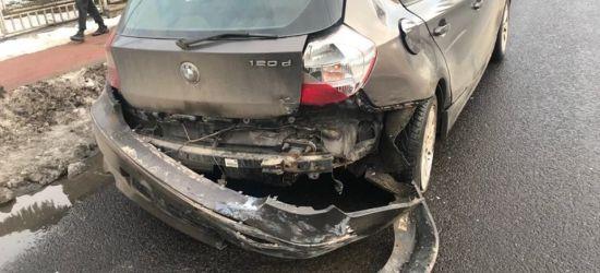 SANOK: Dwa BMW pokiereszowane po stłuczce na ul. Lipińskiego (ZDJĘCIA)