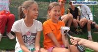 Przyszła Radwańska i młody Janowicz zagrali na sanockich kortach (FILM)