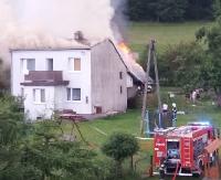 Tragedia w Wujskiem. Pożar strawił dorobek życia (ZDJĘCIA, VIDEO)