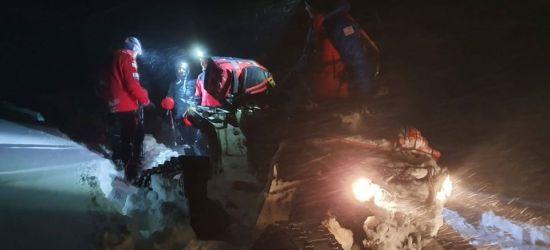 Fatalne warunki w górach. Akcja ratowników (FOTO)