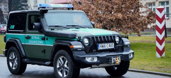 Nowe motocykle i Jeepy dla straży granicznej! (ZDJĘCIA, VIDEO)