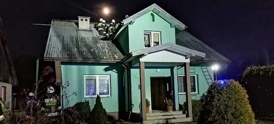 PIELNIA: Spłonął dom. Ruszyła zbiórka na odbudowę (NOWE ZDJĘCIA)