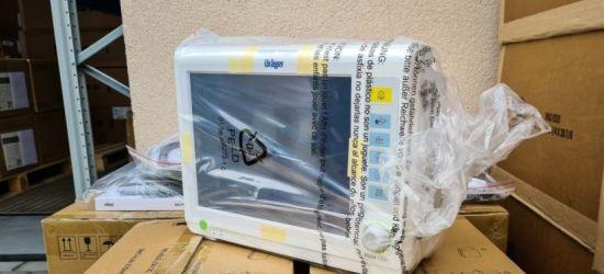 76 dodatkowych respiratorów trafi do podkarpackich szpitali (WIDEO)