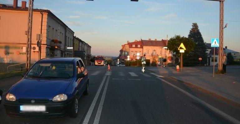Potrącenie pieszego w Rymanowie (FOTO)