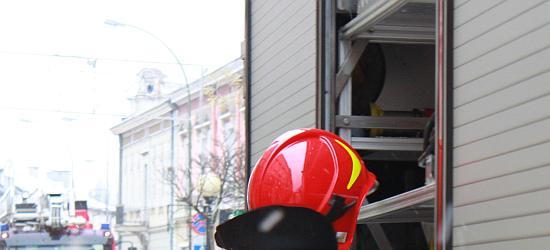 Pozostawiony garnek na kuchence doprowadził do pożaru (FILM)