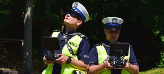 Dron w podkarpackiej policji! Pomoże łapać piratów drogowych (ZDJĘCIA)