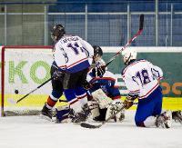 HOKEJ: Młodzi hokeiści walczą w  Karpackiej Młodzieżowej Lidze Hokejowej. Trudny początek sanoczan (ZDJĘCIA)