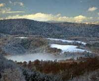 Przybędzie śniegu. W górnych partiach Bieszczad zagrożenie lawinowe