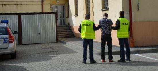 Atakował kobiety w centrum Rzeszowa. Jedną ranił nożem