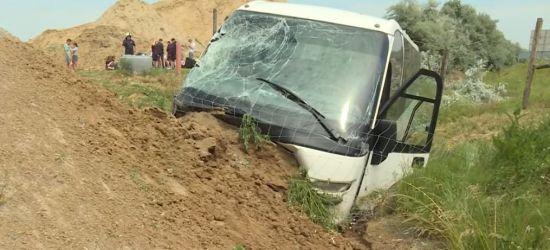 Polski autobus wypadł z autostrady na Węgrzech. Jechali nim uczniowie z Rymanowa (FOTO)