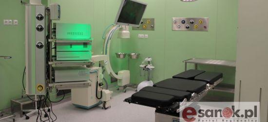 Pacjenci sanockiego szpitala korzystają na inwestycjach. Dyrekcja przedstawia dane