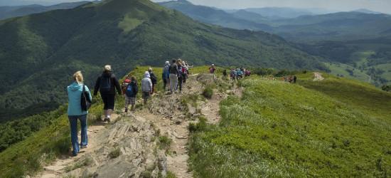 Rekordowe Bieszczady. Turyści kochają bieszczadzkie szlaki