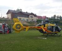 AKTUALIZACJA LESKO24.PL: Trzylatka postrzeliła młodszego kuzyna z wiatrówki. Chłopiec przetransportowany śmigłowcem do szpitala (ZDJĘCIA)