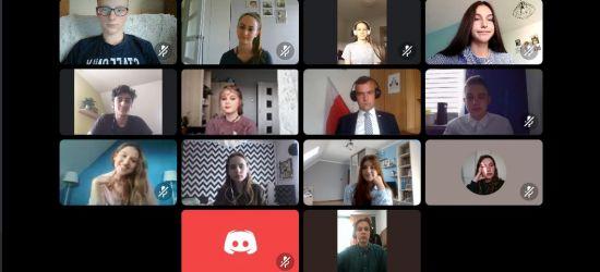 SANOK: Młodzieżowa Rada Miasta obradowała online