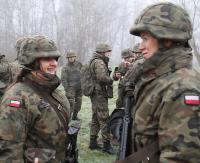 WOT: Przyszli oficerowie z sanockiego batalionu kształcą się  w Warszawie i we Wrocławiu (ZDJĘCIA)
