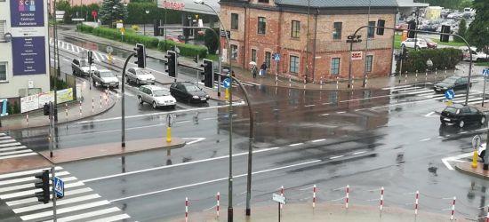 AKTUALIZACJA: Nie działa sygnalizacja świetlna na największym skrzyżowaniu w mieście. Trwa naprawa (FOTO)