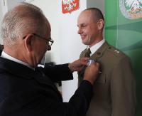 Honorowy Dawca Krwi z Medyki. Pogranicznik otrzymał odznaczenie od ministra zdrowia (ZDJĘCIA)
