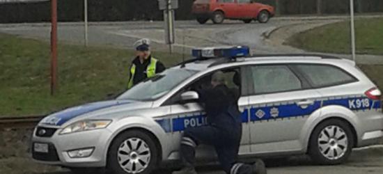 """Bezlitosna sanocka policja"" :) (ZDJĘCIA)"