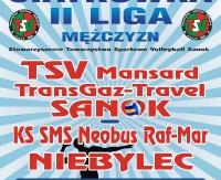 KONIEC TRANSMISJI NA ŻYWO: TSV Mansard TransGaz-Travel – Neobus Raf-Mar Niebylec