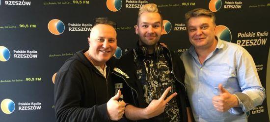 Adrian Stodolak, student sanockiej PWSZ, na antenie Radia Rzeszów