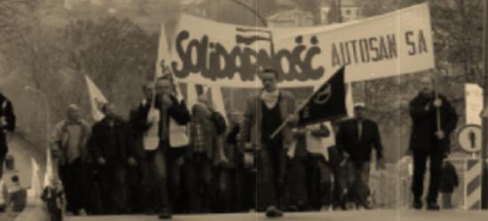 Strajki w Autosanie. Tak było 13 grudnia 1981 roku (FILM)