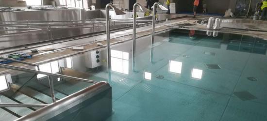 SANOK Czas pierwszych podsumowań. Budowa basenu zamkniętego na finiszu (ZDJĘCIA)
